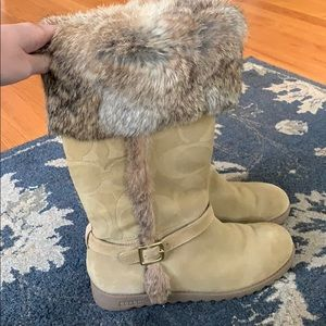 Coach Winter Boots women's
